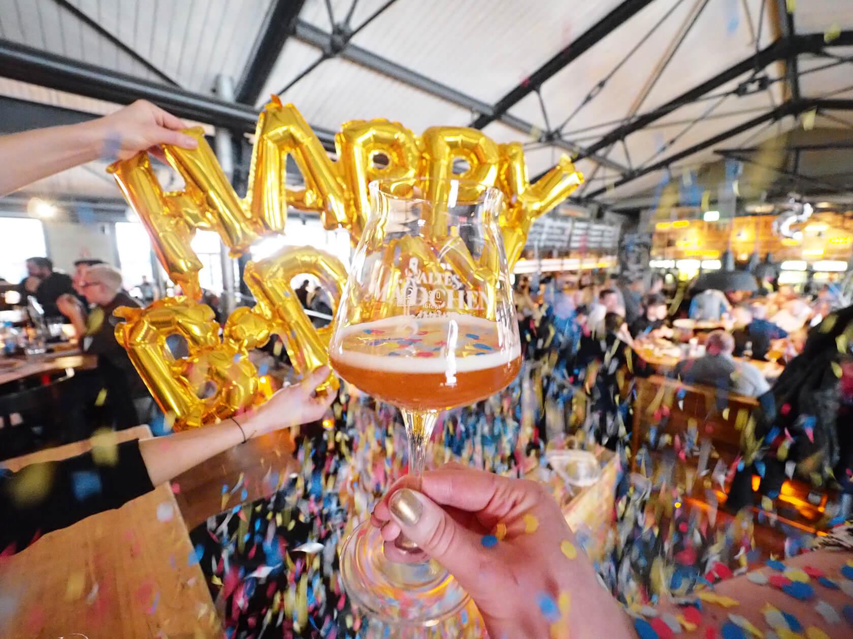 Altes Maedchen Hamburg, Geburtstag Hamburg