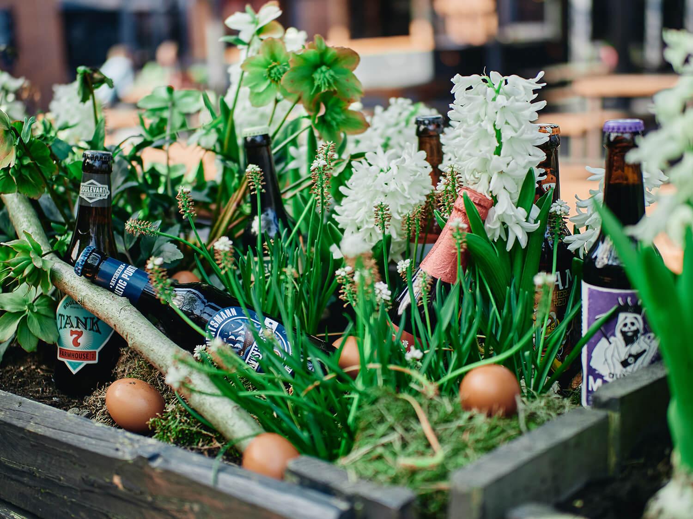 Osternest, Craft Beer, Frühling